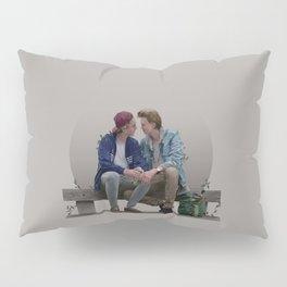 LOVE, EVAK. (light version) Pillow Sham