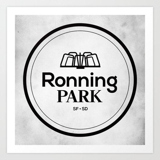 Ronning Park Art Print