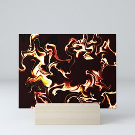 Burn baby burn Mini Art Print