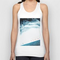 swim Tank Tops featuring Teal Swim by Stoian Hitrov - Sto