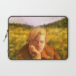 The Boy of the Flowers Laptop Sleeve