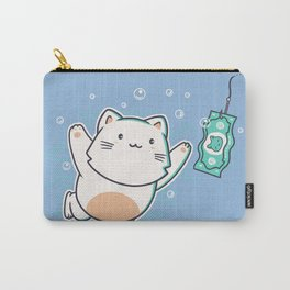 Nevermind Cat Carry-All Pouch