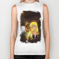 sailor venus Biker Tanks featuring Sailor Venus by Maren Lex