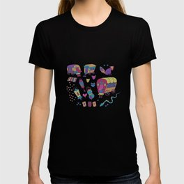 Caravan Pattern T-shirt