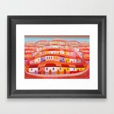 Pueblo Framed Art Print