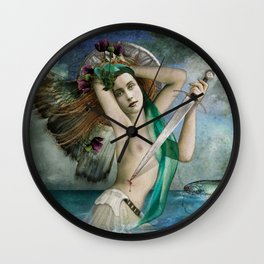 Santa Marina Wall Clock