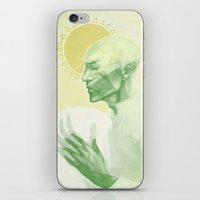 dragon age iPhone & iPod Skins featuring Dragon Age: Solas by Couple Of Kooks