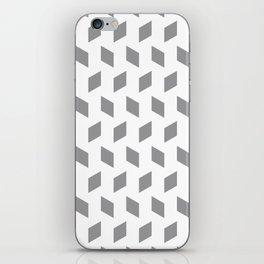 rhombus bomb in alloy iPhone Skin