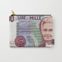 1000 lire Carry-All Pouch