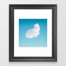 170128 / CLOUD.SERVICES Framed Art Print