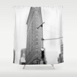 Rainy New York III Shower Curtain