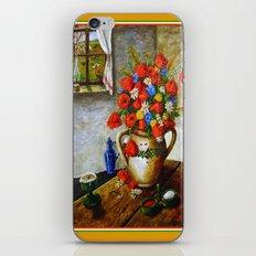 Hungarian Poppies iPhone & iPod Skin
