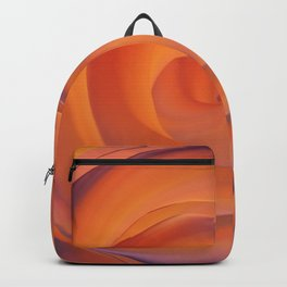 orange and violate gate colorful abstract Backpack