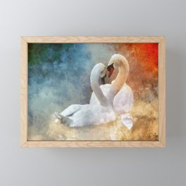 Mesmerized Framed Mini Art Print