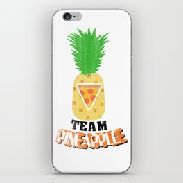Team Pineapple Pizza iPhone Skin