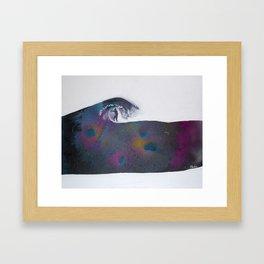 Riding Cosmos Framed Art Print