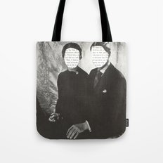 We Can Read Each Other's Minds Tote Bag