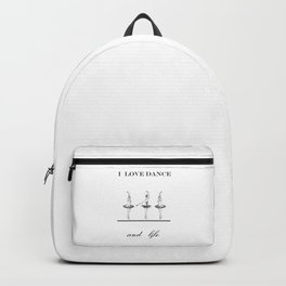 I love dence Backpack