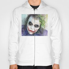 The Joker Watercolor Hoody