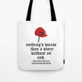 ...STORY WITHOUT AN END. Tote Bag