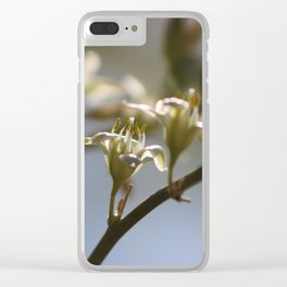 Hesperaloe Parviflora Flower Closeup Clear iPhone Case