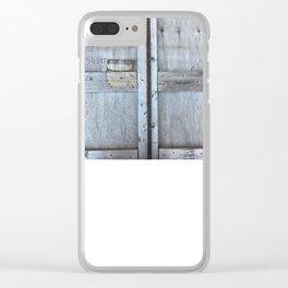 Crate Clear iPhone Case