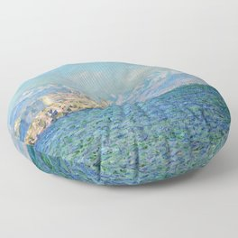 Claude Monet Antibes Afternoon Effect Floor Pillow