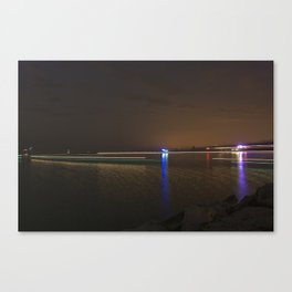 Boat Parade Canvas Print