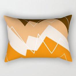 The Burning Rainbow Bridge 47 Rectangular Pillow