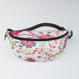 Lovely Floral Background Fanny Pack