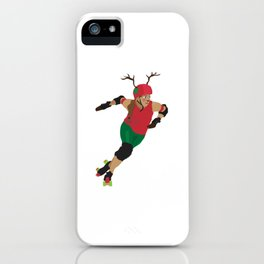 Dashing Through The Pack iPhone Case
