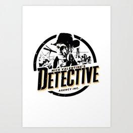 Nick Valentine - Detective Art Print