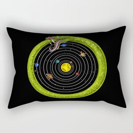 Ouroboros Snake Astronomy Rectangular Pillow