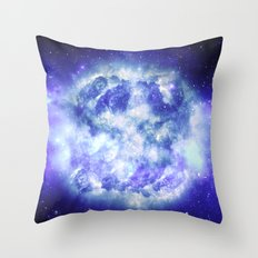 Unseen Detonation Throw Pillow
