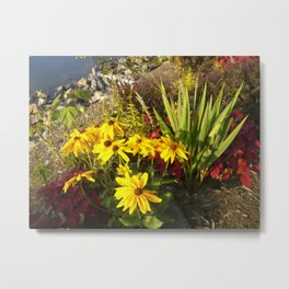 Floral Print 028 Metal Print