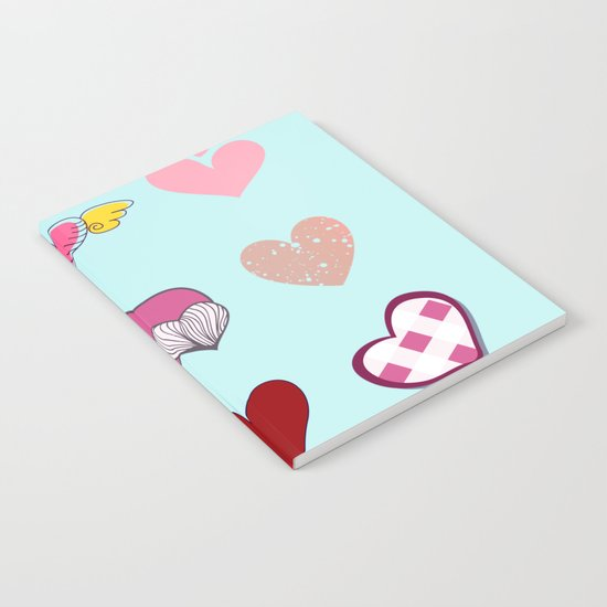 Hearts Notebook