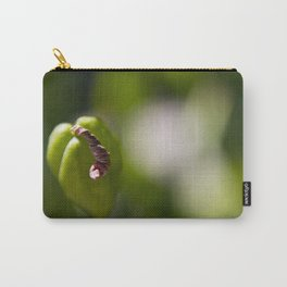 Macro Wilted Flower Carry-All Pouch