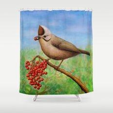 Taiwan Yuhina  Shower Curtain