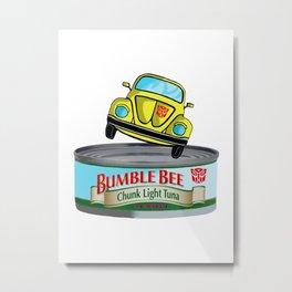 Transformers G1 Bumbleebee Tuna Metal Print