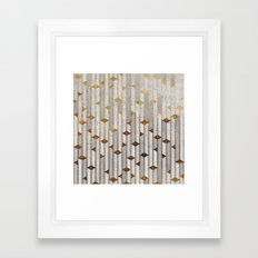 Concrete Skyscrapers Framed Art Print