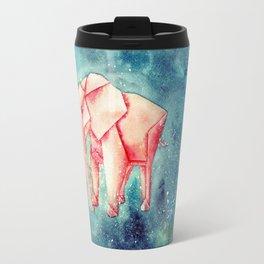 Pink elephant Travel Mug