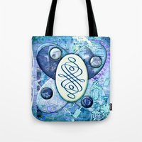 melissa smith Tote Bags featuring Melissa (#TheAccessoriesSeries) by Wayne Edson Bryan