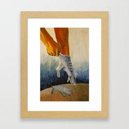 Exchange- Fullness for Emptiness Framed Art Print