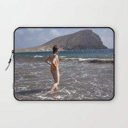 Vacation Postcard Laptop Sleeve