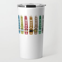 Recycle Garbage Travel Mug