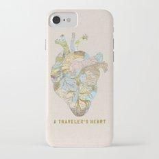 A Traveler's Heart iPhone 7 Slim Case
