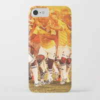 colombia iPhone & iPod Cases featuring Colombia Celebrating by Max Hopmans / FootWalls