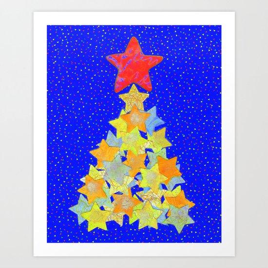 Tree of Stars Art Print