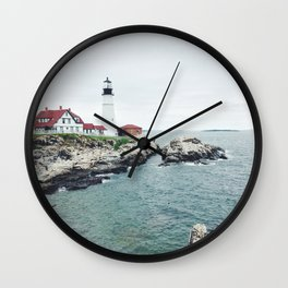 Portland Headlight Wall Clock