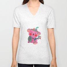 The Pink Koala Unisex V-Neck